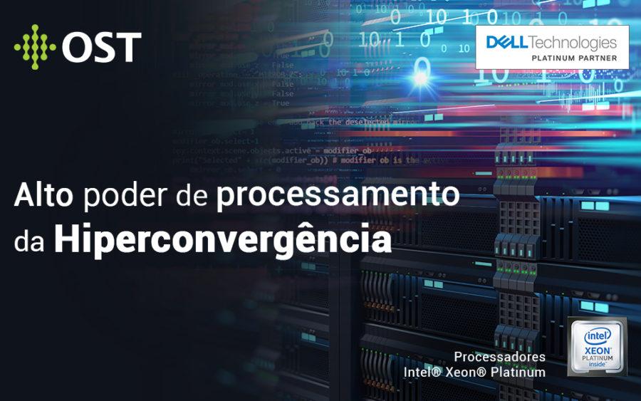 A promessa de hiperconvergência é alcançada graças ao alto poder de processamento